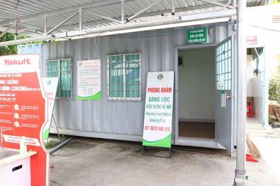 Dự án container phòng khám sàng lọc Covid-19 cho bệnh viện/trạm y tế