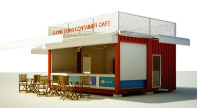 The Coffee Shop Container