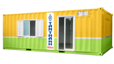 40 feet office container being equipped with toilet