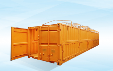 Container 40 feet Hafl Hight Open Top