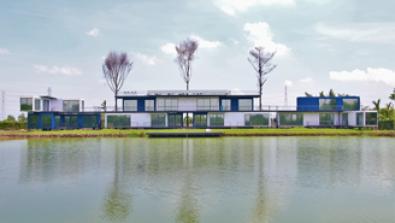 Dự án cung cấp cụm container nhà ở tại Cần Giờ