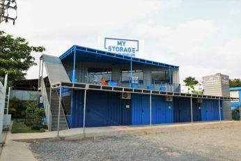 Cung cấp cụm container kho cho công ty MyStorage