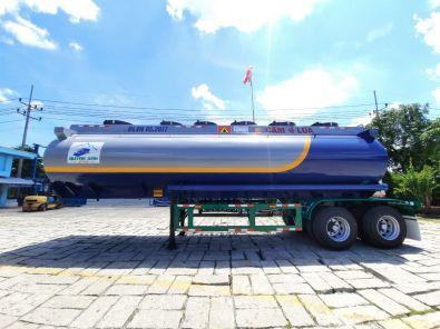 Sơmi rơmooc xitec (chở xăng) 31.3 mét khối L42-BX-01