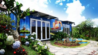 Dự án cung cấp cụm container Homestay tại Đà Lạt