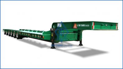 Lowbed semi-trailer 60 feet 06 Axles L66-LD-01