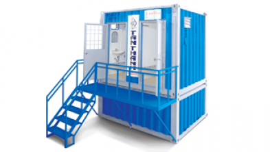 10 Feet Container mobile toilet (septic tank)