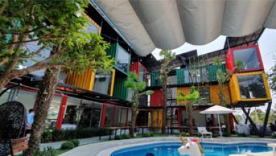 Dự án cung cấp cụm container khách sạn tại Cửa Lò