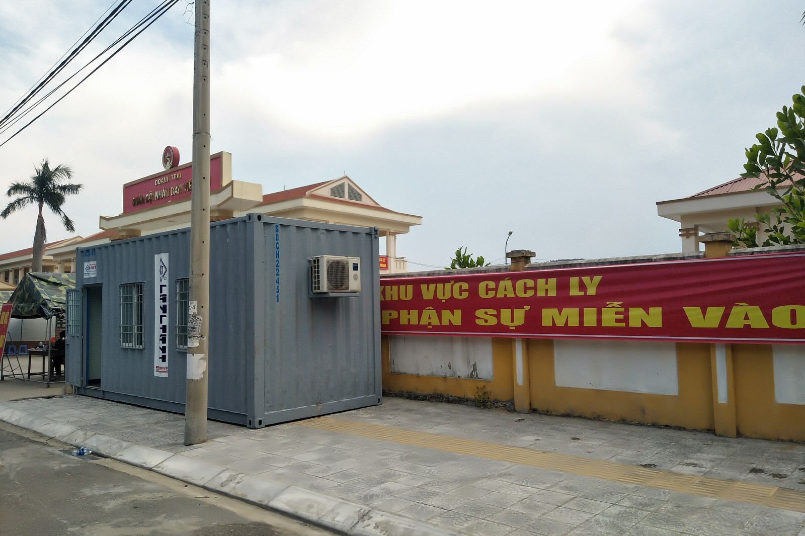Container chốt kiểm dịch
