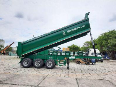 Self-dumping semi trailer 40 feet 03 Axles