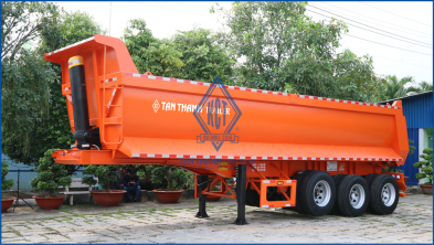 Self-dumping semi trailer  J43-TP-01-1