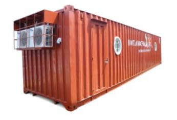 Design and install class room containers for Dariu Foundation