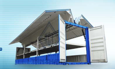 Hydraulics Flying Wings Container