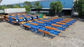 Design and supply terminal semi-trailers 45 feet