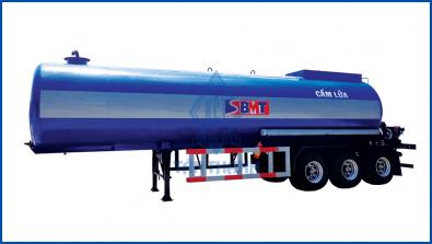 Xitec tank semi trailer (carrying hot liquid asphalt) G43-BN-01-1