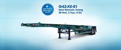 Sơmi rơmooc tải (chở container) 40 feet G42-XE-01-1