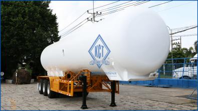 Xitec tank semi trailer (transporting liquid NH3) L43-BAM-01