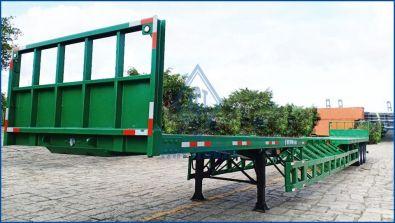 Flatbed semi trailers J53-SR-01